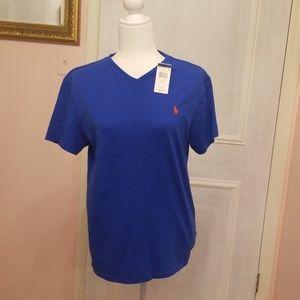 NWT Polo Ralph Lauren blue t-shirt
